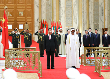 习近平出席阿联酋阿布扎比王储和副总统兼总理
