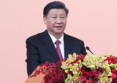 习近平出席澳门特别行政区政府欢迎晚宴并发表讲话