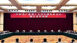 浙江代表团讨论十九大报告