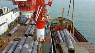 中国的海底最长管线完工