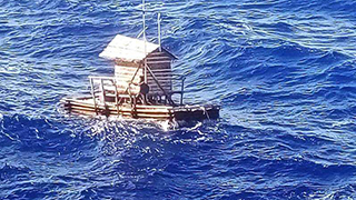 少年海上漂流49天获救