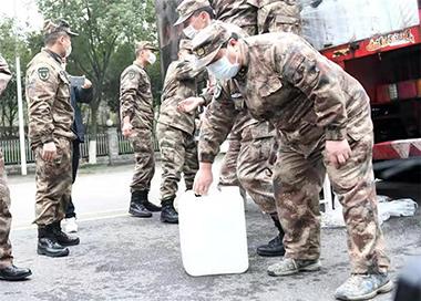国防动员系统多地联动支援武汉