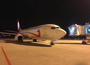 湖北复航首个航班从宜昌顺利抵达福州