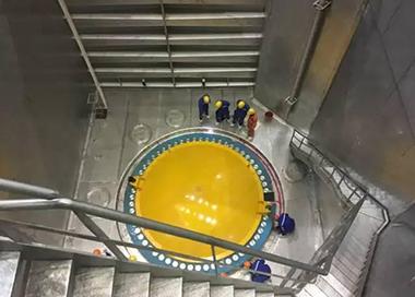 """""""华龙一号""""全球首堆水池密封试验完成"""