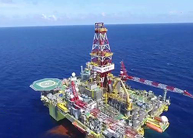我国最大水深海底管线铺设项目首阶段完工