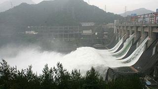 新安江水库关闭至3孔泄洪