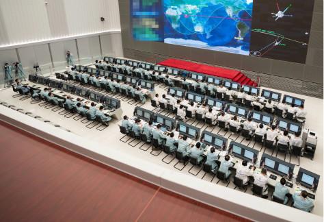 天问一号火星探测器完成第一次轨道修正